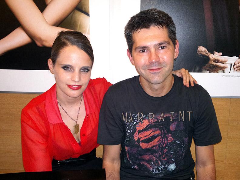 David Servant et Anna Calvi