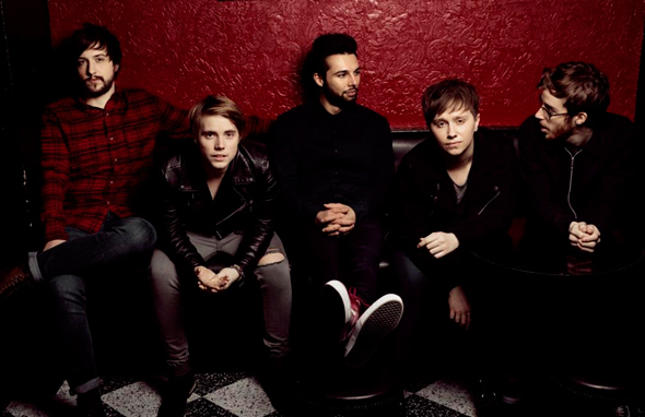 NOTHING BUT THIEVES - Interview - Paris, mercredi 25 novembre 2015