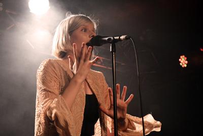 AURORA -  La Boule Noire, Paris, mercredi 10 juin 2015