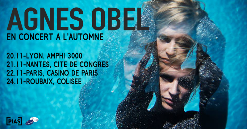 AGNES OBEL en tournée
