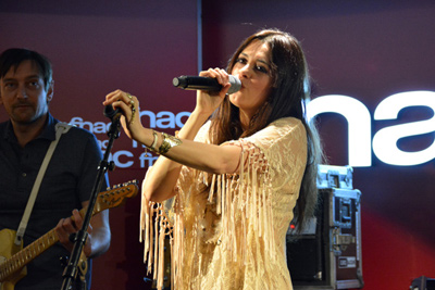 EMILIE SIMON -  Showcase Fnac Ternes - Paris, mercredi 26 mars 2014