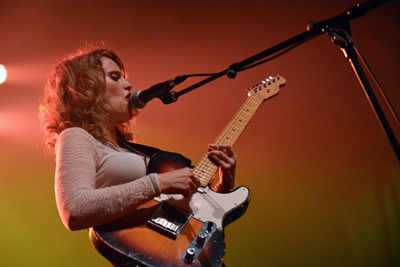 ANNA CALVI -  Festival Days Off - Cité de la Musique - Paris, lundi 7 juillet 2014