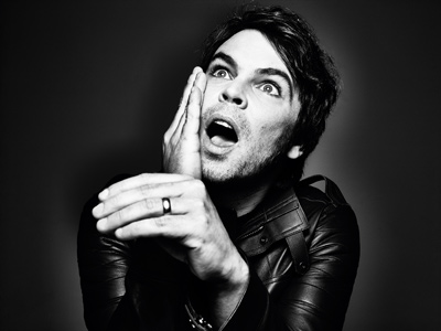 GAZ COOMBES - Interview - Paris, mercredi 17 décembre 2014
