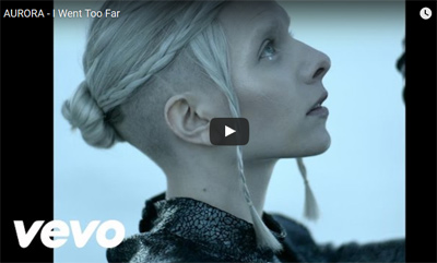 "AURORA dévoile le clip de ""I Went Too Far"""