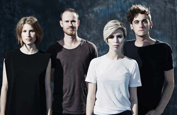 THE JEZABELS - Interview - Paris, mardi 11 mars 2014