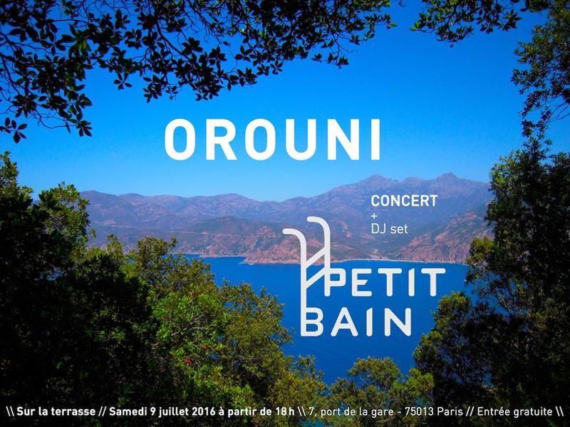 Orouni au Petit Bain