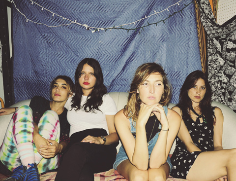 "WARPAINT - ""Heads Up"" - Nouvel album le 23 septembre"