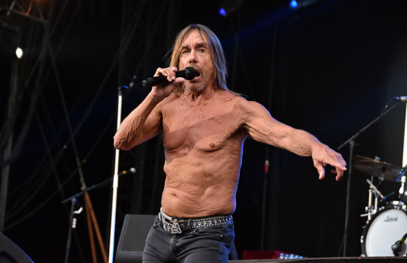 IGGY POP – Festival Rock en Seine – Domaine National de Saint Cloud – 28 août 2016