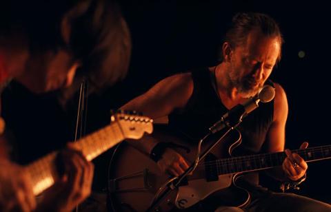 "RADIOHEAD - ""Present Tense"" : Jonny, Thom & a CR78"