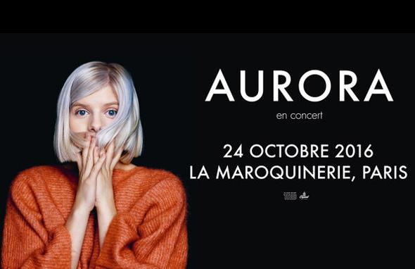 [Live report] AURORA - La Maroquinerie - Paris, lundi 24 octobre 2016