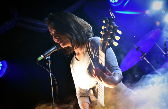 MITSKI - Le Pop Up du Label - Paris, vendredi 30 septembre 2016