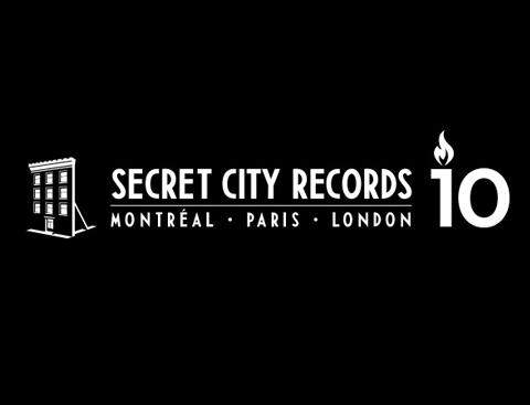 SECRET CITY RECORDS fête ses 10 ans!