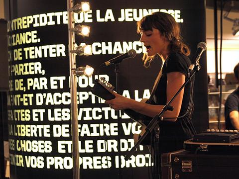 MYRA LEE –  Citadium – Paris, samedi 20 août 2011