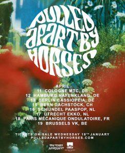 PULLED APART BY HORSES @ La Mécanique Ondulatoire