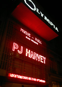 [Live Report] PJ HARVEY - L'Olympia, Paris, jeudi 24 février 2011