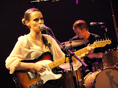 [Live Report] ANNA CALVI - Black Session #322 - Maison de la Radio - Paris, lundi 17 janvier 2011