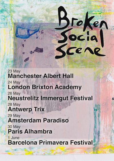 Broken Social Scene en tournée