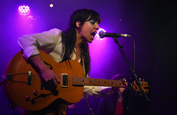 HURRAY FOR THE RIFF RAFF - Festival Les Femmes S'en Mêlent - Le Divan du Monde - Paris, lundi 27 mars 2017