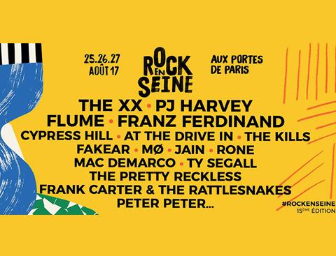 ROCK EN SEINE 2017 : les premiers noms !