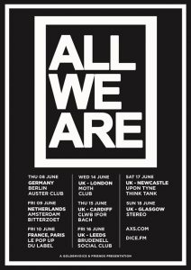 ALL WE ARE @ Pop Up du Label