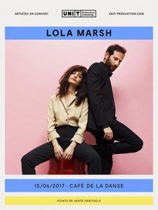 LOLA MARSH @ Café de la Danse