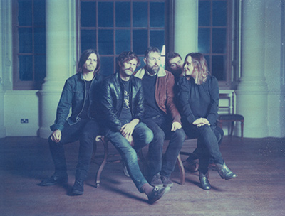 SLOWDIVE - Interview - Paris, vendredi 7 avril 2017