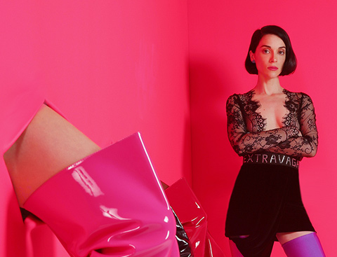 ST. VINCENT – « New York »