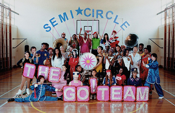 THE GO! TEAM - Semicircle (2018)