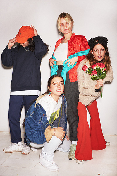HINDS - Interview - Paris, lundi 23 avril 2018