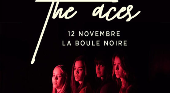 THE ACES en concert à Paris le 12 novembre