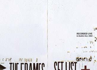 THE FRAMES - Set List (2003)