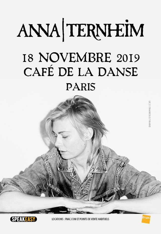 Anna Ternheim au Café de la Danse