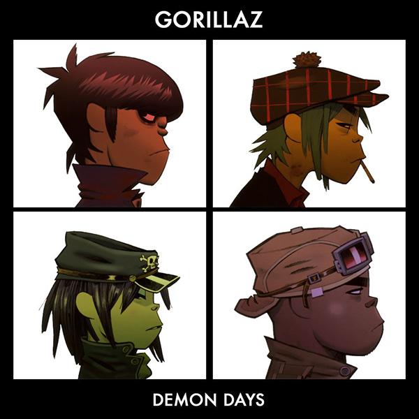GORILLAZ - Demon Days (2005)